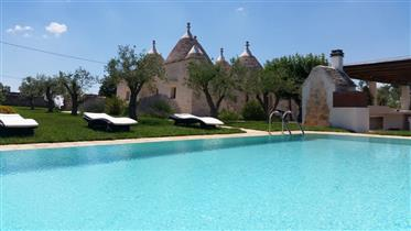 Trulli Terrarossa with Pool in Martina Franca