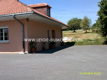House + cottage with swimming pool near Périgueux