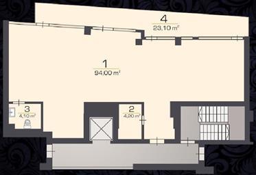 Demeure de prestige : 125 m²