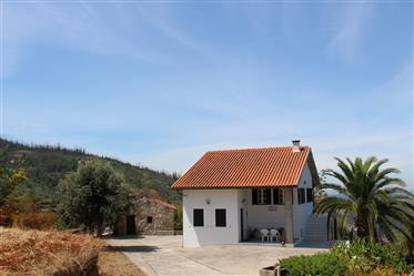 Quinta com casa principal, 2 anexos e garagem, com 7000m2 de terreno, a poucos Km de Oliveira do Hos