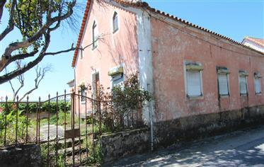 Casa com carácter, telheiro e anexos recuperados, com terreno e vista para a serra, entre Oliveira d