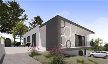 4 hochmoderne Häuser mit grünem Blick für den Verkauf an der Silberküste Portugals-Casas de Bouro