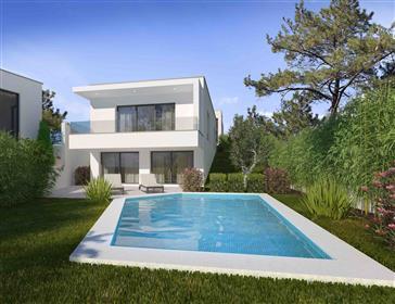 6 casas de design com vistas panorâmicas sobre as colinas verdes