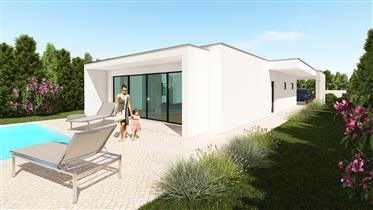 2 Moradias modernas à venda na Costa de Prata de Portugal – Chão da Parada – Casas Oliveiras