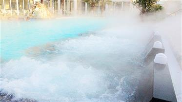Beautiful Hotel with thermal pools, 150 rooms