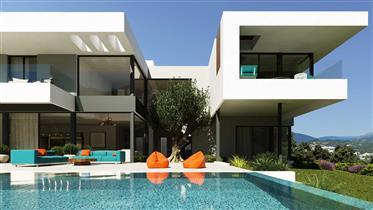 Luxury villa under construction