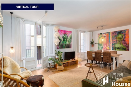 Wonderful renovated apartment for sale in the heart of Born. Surrounded by boutiques, cozy
