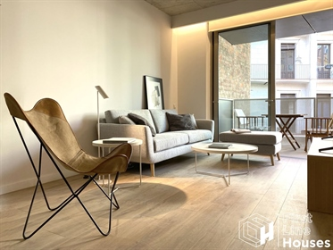 A unique opportunity to buy a luxury apartment in the heart of Barcelona with contemporary