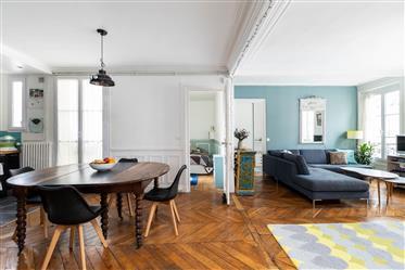 Appartement familial  5 pièces, 92 m²,  4 ch, 4eme étage, Charme, Mairie du Xème