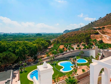Fantastic private residential formed by apartments of 2 or 3 bedrooms in Xeresa, a few min