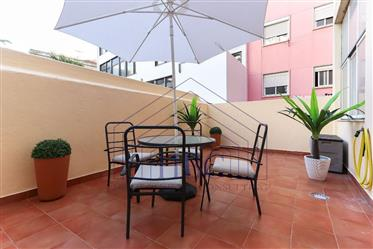 Renovated 3 bedroom apartment in the center of Lisbon