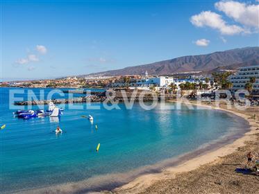 Studio penthouse avec une vue magnifique sur la mer à Puerto Colón, Adeje, Tenerife Sud!