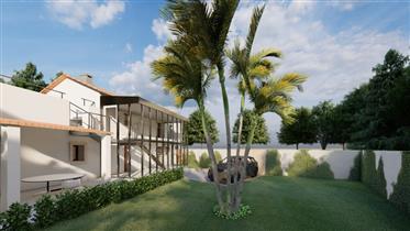 Projeto Alojamento Local (2 Moradias T3 + Moradia T1) – Capuchos - Alcobaça
