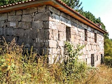 Quinta com casas rústicas em Amarante