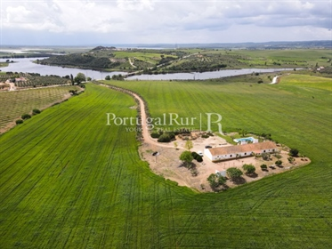 The 'Herdade do Lago Norte' with about 18 hectares