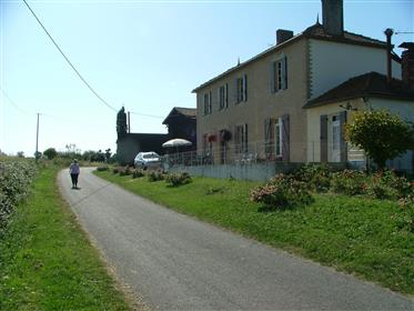 Rural French Farmhouse on 1 hectare with option for more