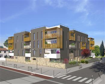 Appartement exposé Sud avec terrasse