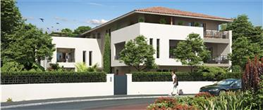 Rare à la vente! Appartement neuf T3 dans une villa d'architecte, Anglet Côte Basque