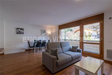 Acojedor i luminoso apartamento a pie de pistas
