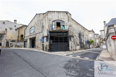 Chai et appartement composé de 2 plateaux avec plus de 600 m² de surface total