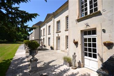 Castelo venda Calvados Normandia, França
