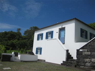 Casa de férias e casa de campo com incrível vista para o mar