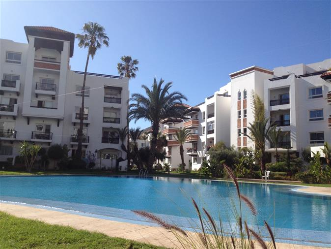 Marina of Agadir - Morocco, very nice apartment 79 m 2, sold...