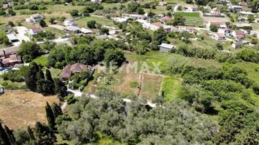 Residential plot 1100 sqm, Peroulades