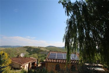 For sale amazing country villa in Volterra hills