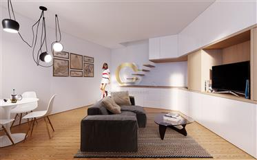 Apartamento T1 + 1 Duplex