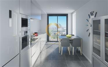 Apartamento T4 Novo - Terraço