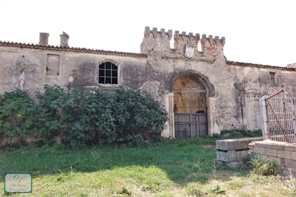 Patrician residence dating back '700 overlooking the sea in Rossano / Calabria