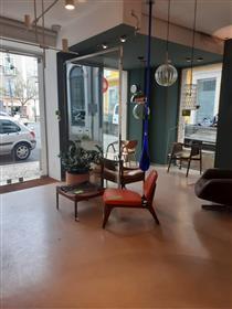 Luminous shop in Misericórdia