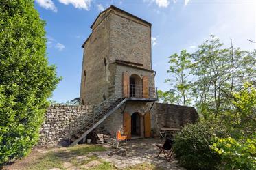 Antica torre con giardino privato
