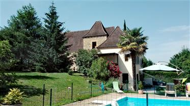 Casa com turismo rural