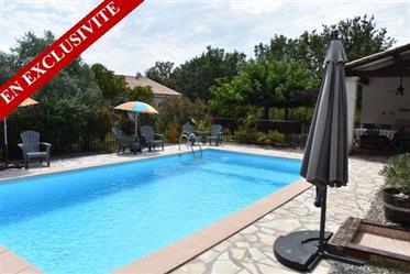 Villa avec piscine 1300 m² terrain