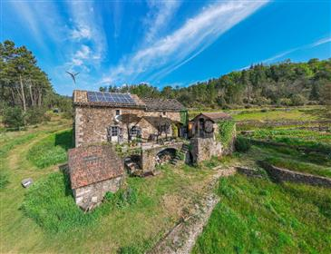 Very Beautiful Mas In Stone De Gres On 17 000 M² Of Land
