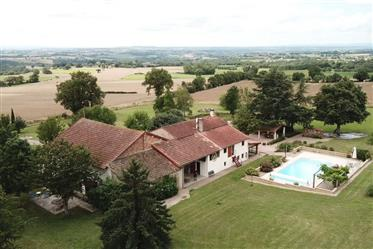 4 b & b casa + gite & piscina con vista mozzafiato