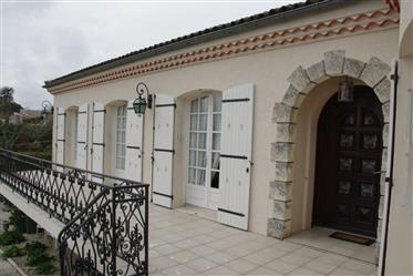 In Saintes,Spacious Detached Property With Basement Garden And Views.