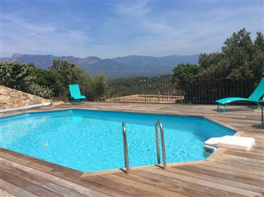 South Corsica for sale beautiful villa with 2 furnished rent...