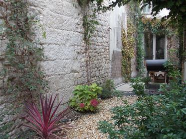 Saintes Centre For Sale Renovated Town House With Courtyard Garden