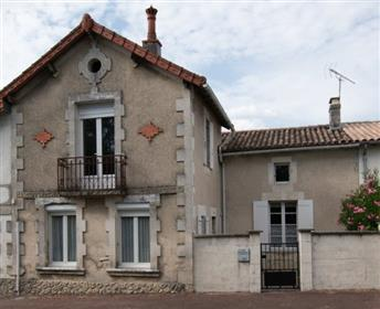 Jonzac area for sale Stone house 4 bedrooms and garden