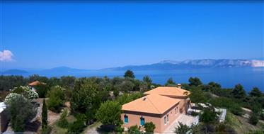 Summer House In Greece, Island Of Evia, Sea Coast Detached V...