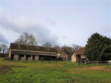 Propriété de chasse à vendre près de Sully sur Loire dans la foret d'Orléans avec 35 hectares