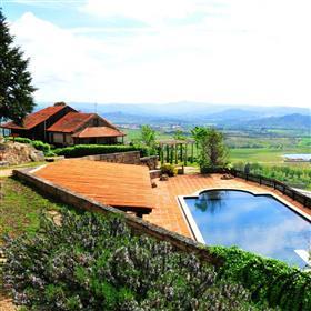 245 hectares de cordilheira, unidade de turismo rural e casa...