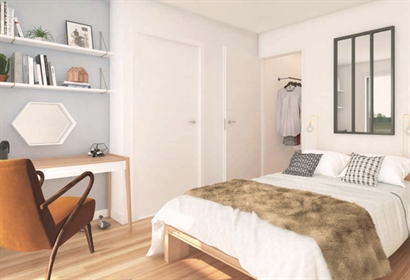 4-Room apartment of 86 m2 with 10m2 terrace