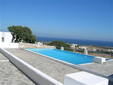 Apartment mit Meerblick und Pool auf der Kykladeninsel Paros nahe Santorin