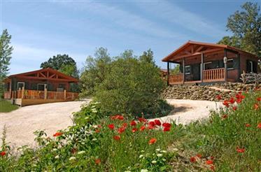 Chalet park te koop 1 uur van de middellandse zee