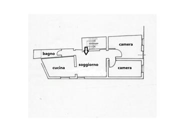 Appartamento  con 2 camere  vicino Rialto