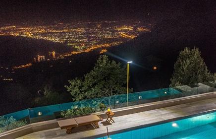 Villa de luxe de 4 chambres avec vue imprenable, Heraklion